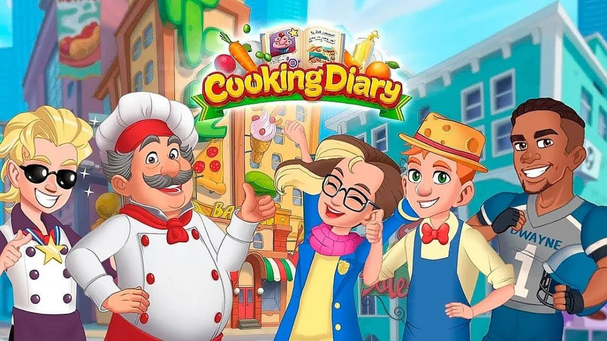 cover cooking diary