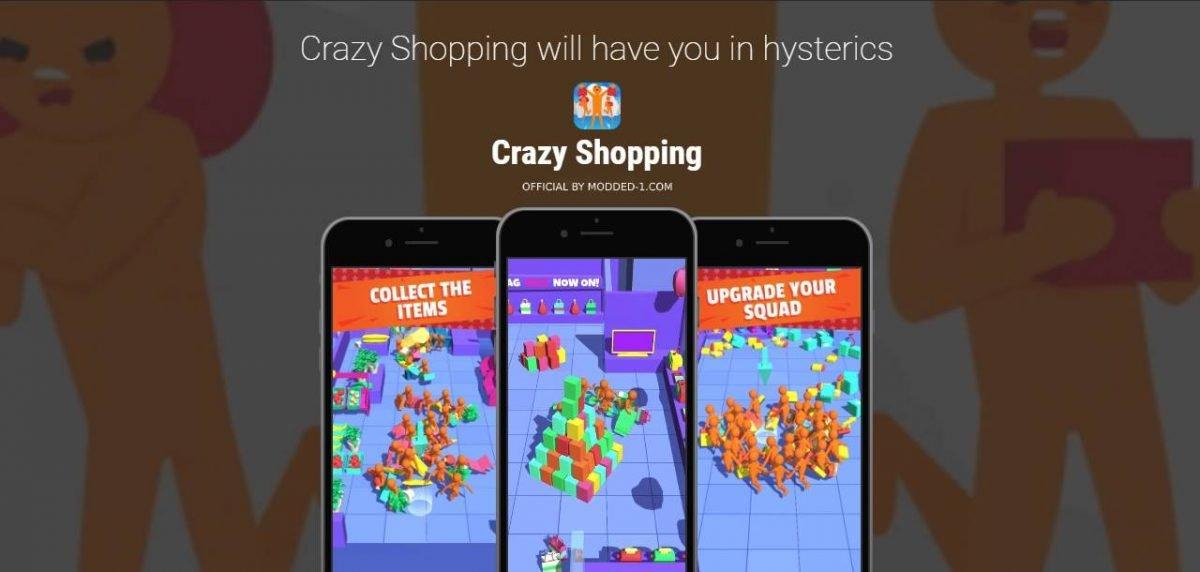 cover crazy shopping