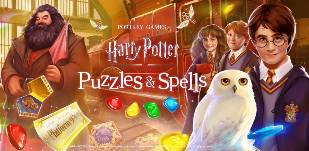cover harry potter puzzles spells
