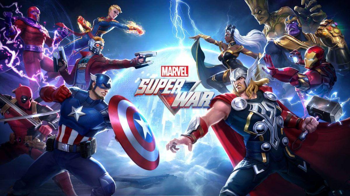 cover marvel super war