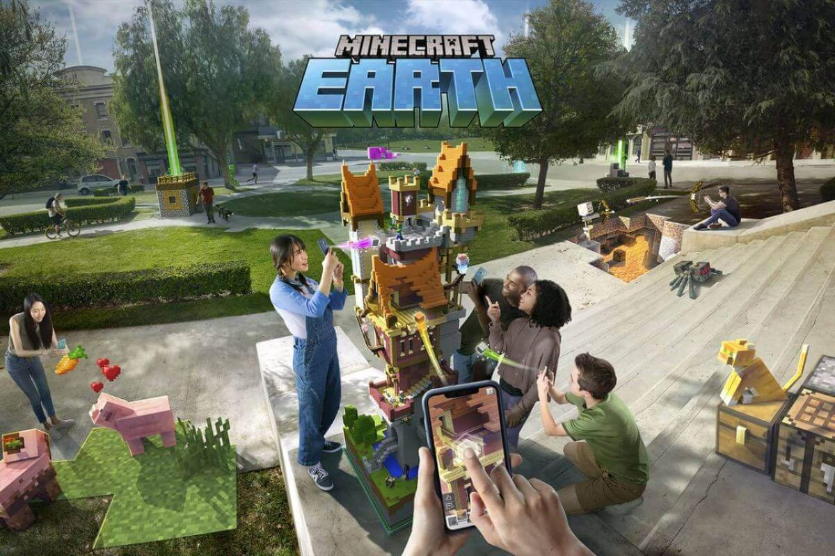 cover minecraft earth