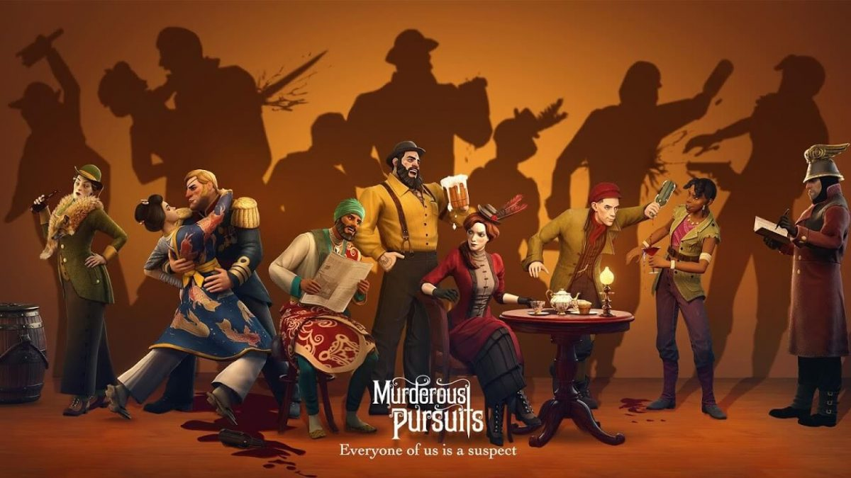 cover murderous pursuits