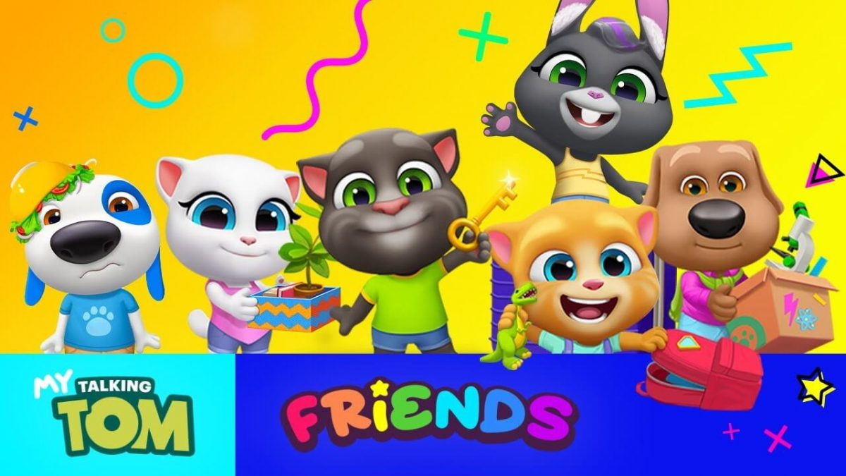 cover my talking tom friends