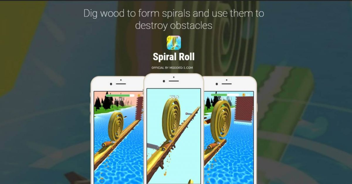 cover spiral roll
