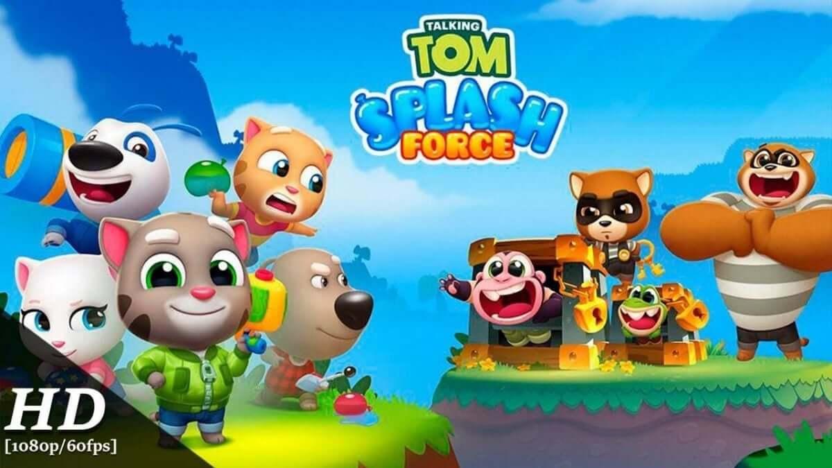 cover talking tom splash force