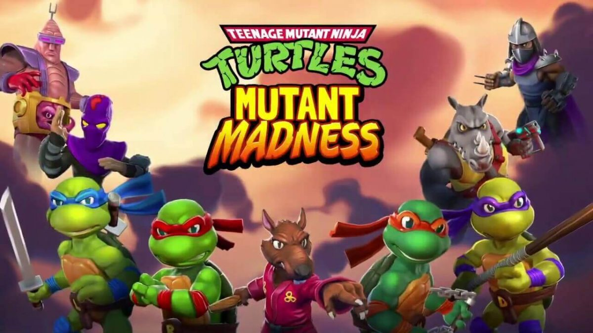 cover tmnt mutant madness