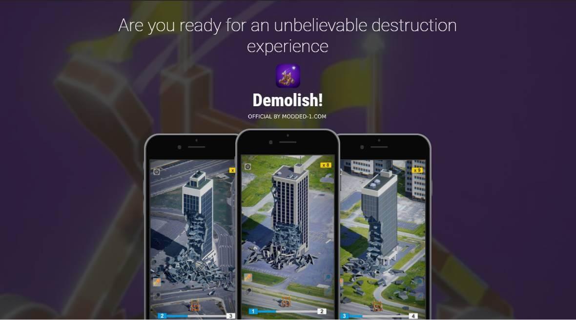 demolish cover