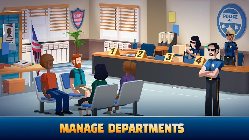 download idle police tycoon mod apk