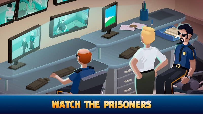 download idle police tycoon mod full