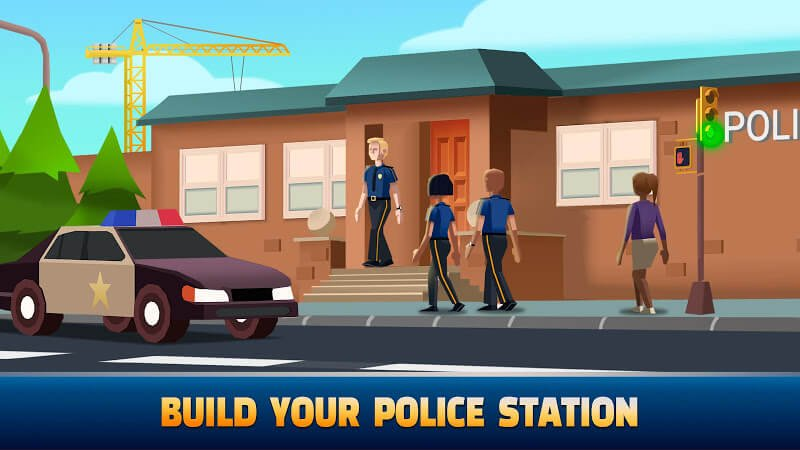 download idle police tycoon