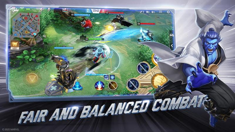 download marvel super war mod money