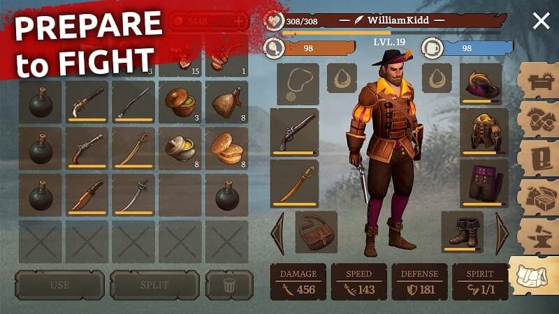 download mutiny pirate survival mod apk