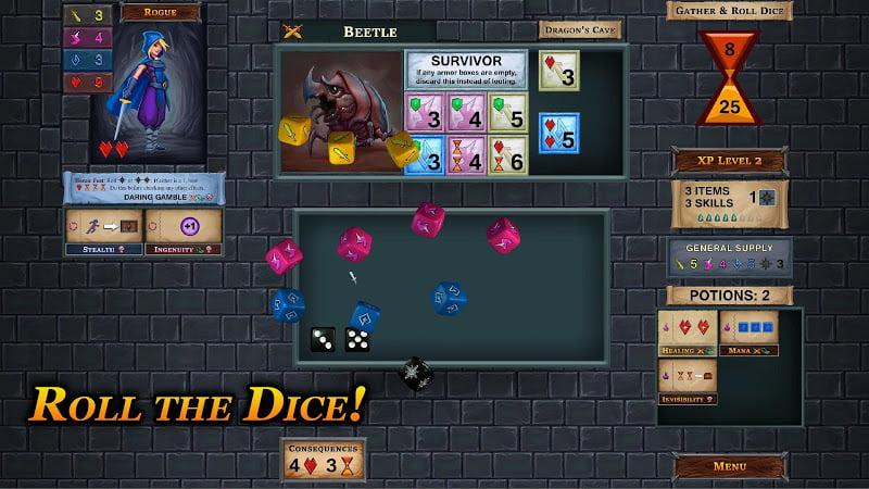 download one deck dungeon mod apk