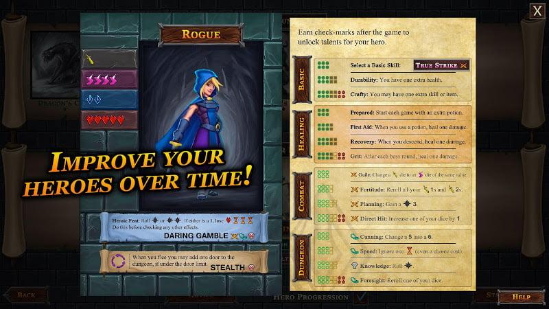download one deck dungeon mod money