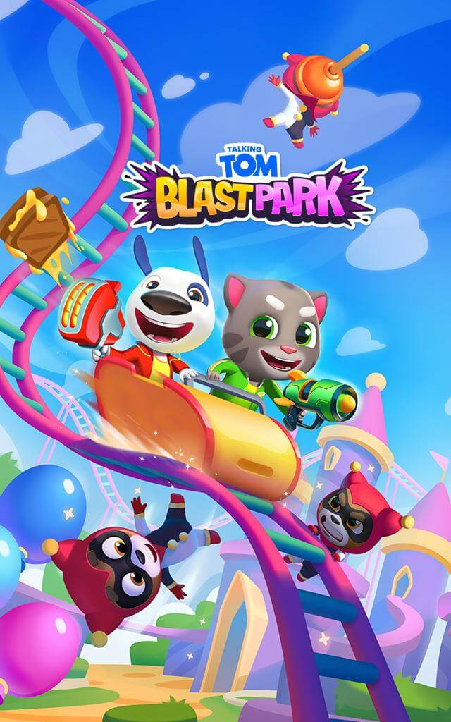 This image has an empty alt attribute; its file name is download-talking-tom-blast-park-mod-apk.jpg