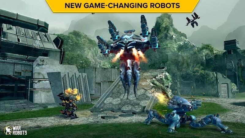 download war robots mod full
