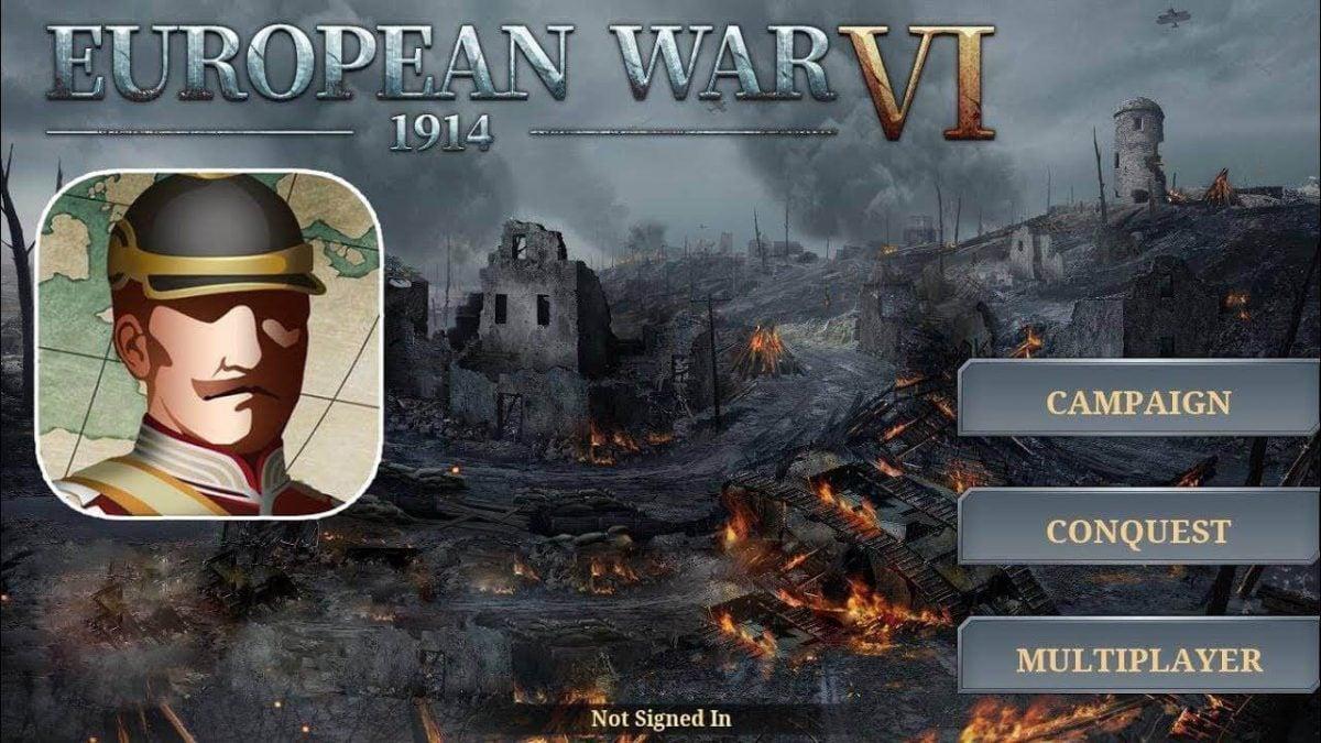 cover european war 6 1914