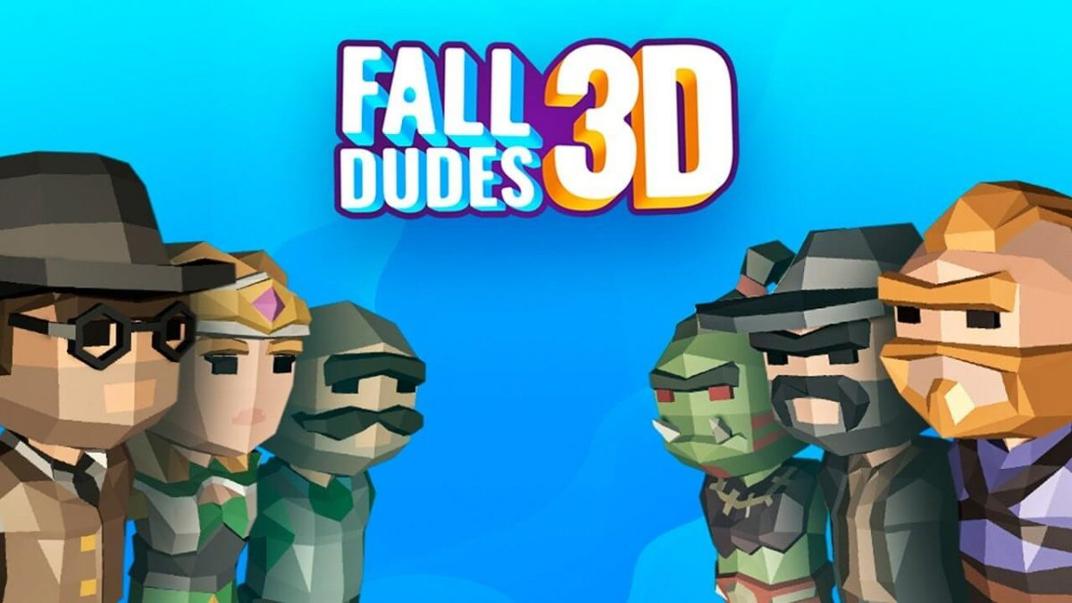 cover fall dudes 3d
