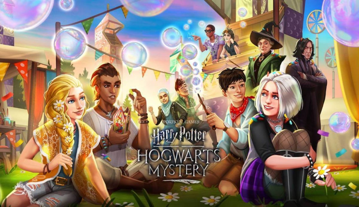 cover harry potter hogwarts mystery