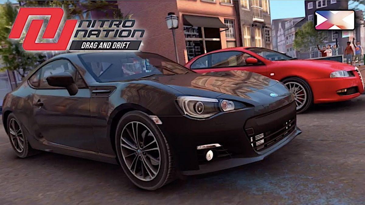 cover nitro nation drag drift