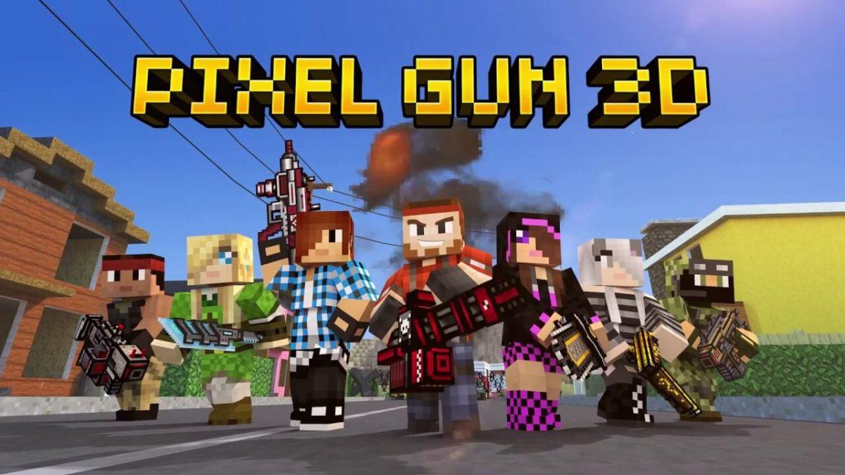 cover pixel gun 3d