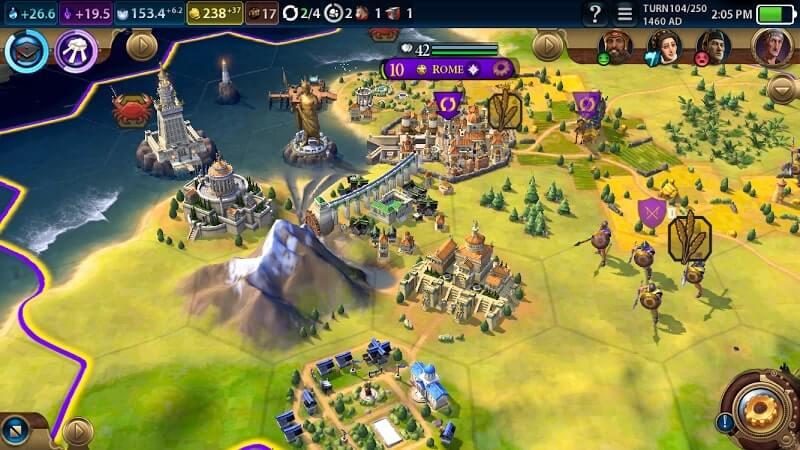 download civilization vi mod apk