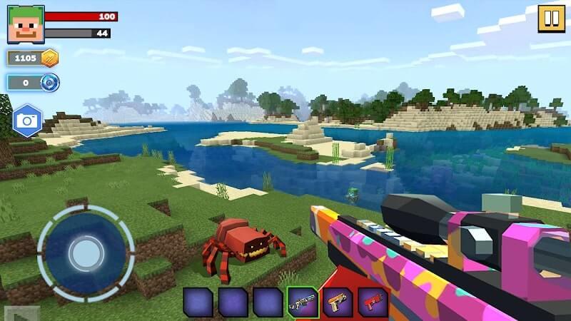 download fire craft 3d mod apk