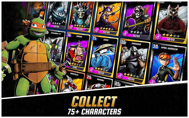 download ninja turtles legends apk