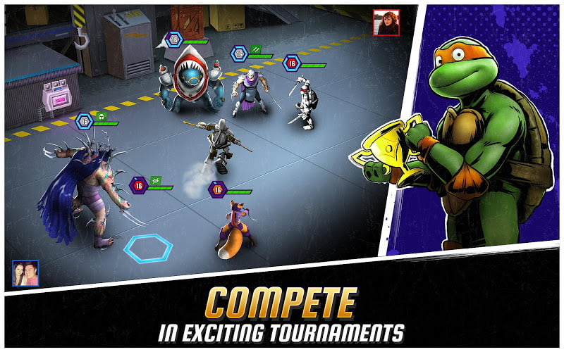 download ninja turtles legends mod full