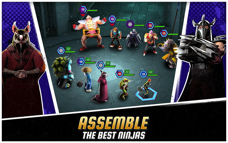 download ninja turtles legends