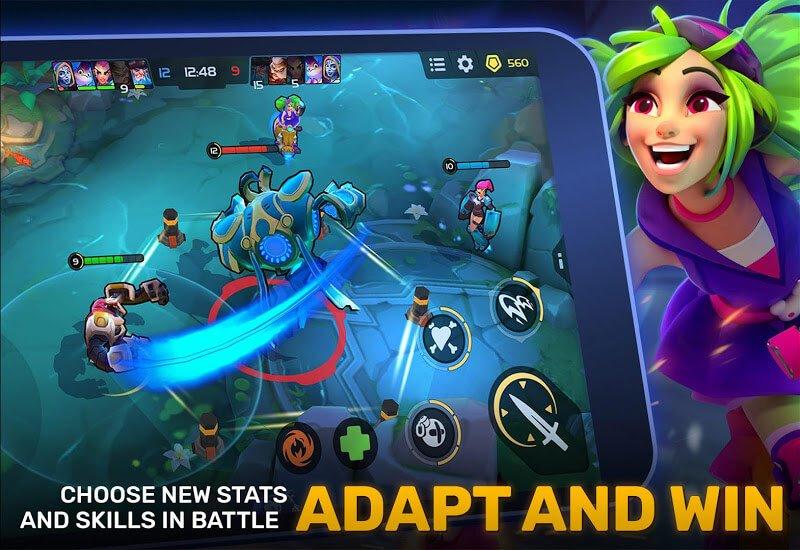 download planet of heroes apk