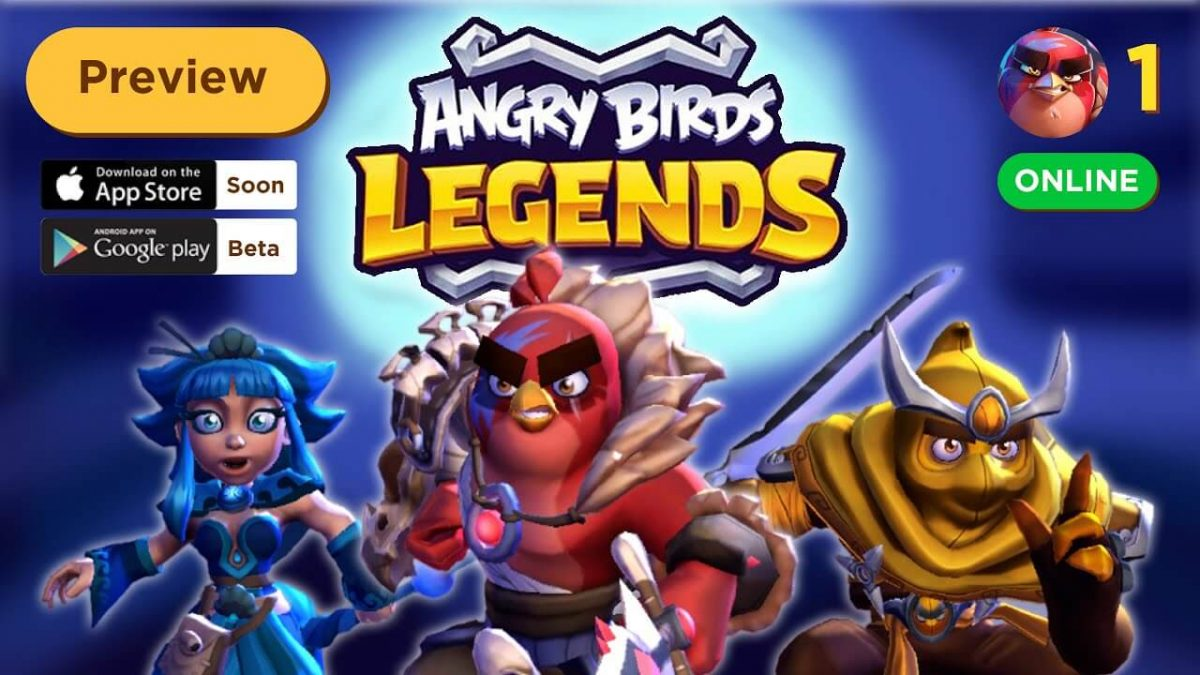 cover angry birds legends