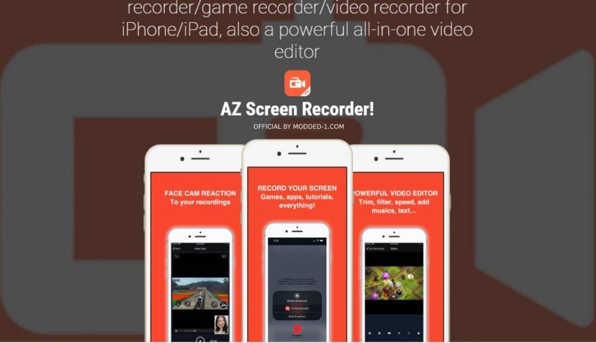cover az screen recorder