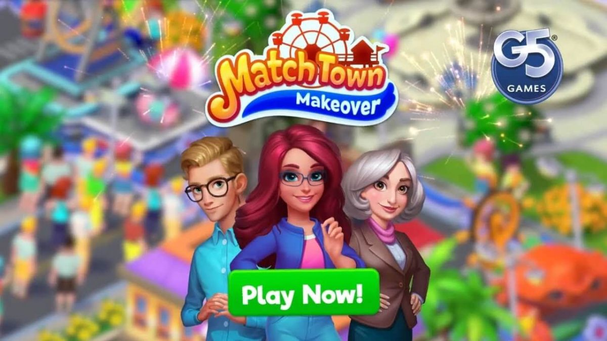 cover match town makeover