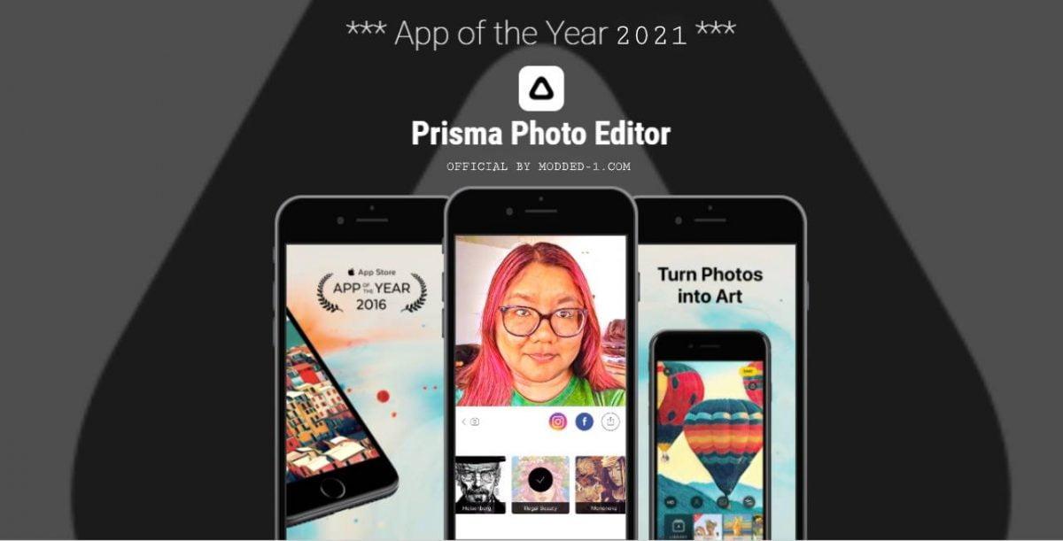 cover prisma photo editor