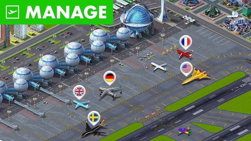 download airport citys mod apk