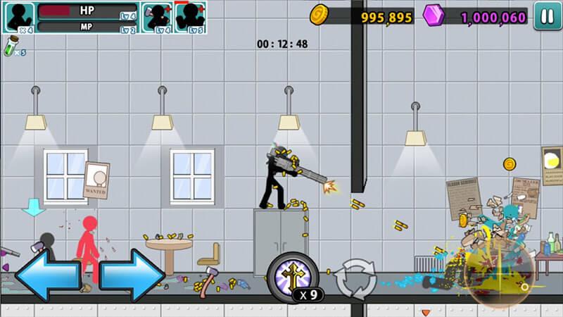 download anger of stick 5 mod money