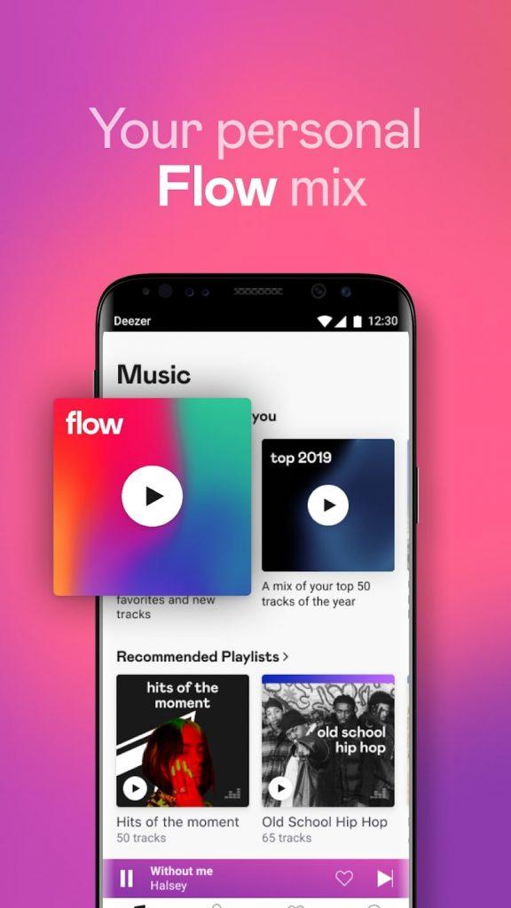 download deezer music player mod apk