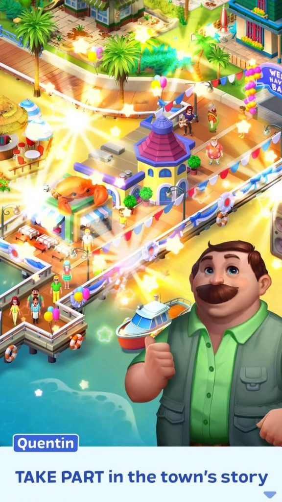 download match town makeover apk