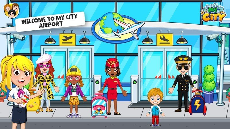 download my city airport