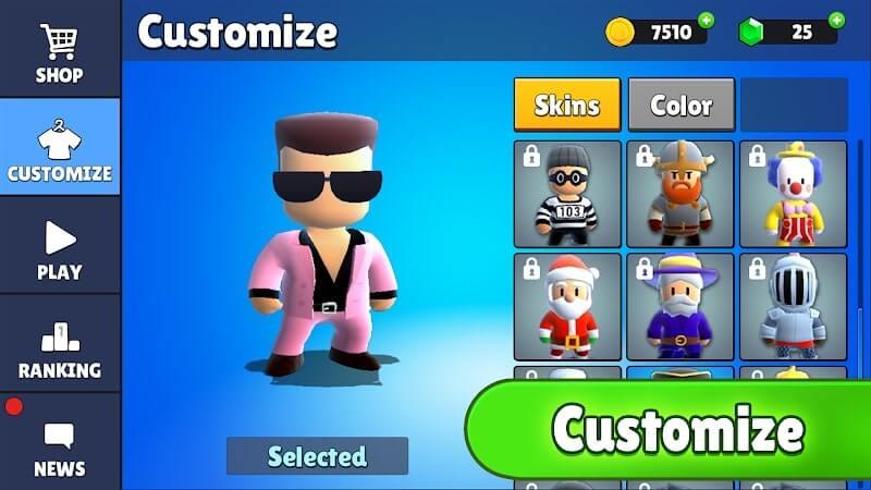 download stumble guys mod money