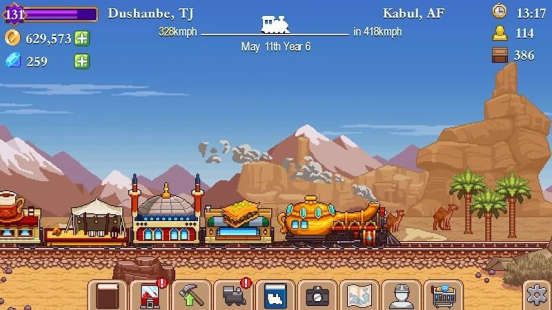 download tiny rails mod apk