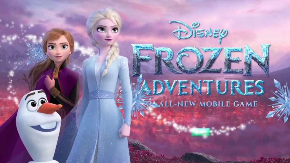 cover disney frozen adventures