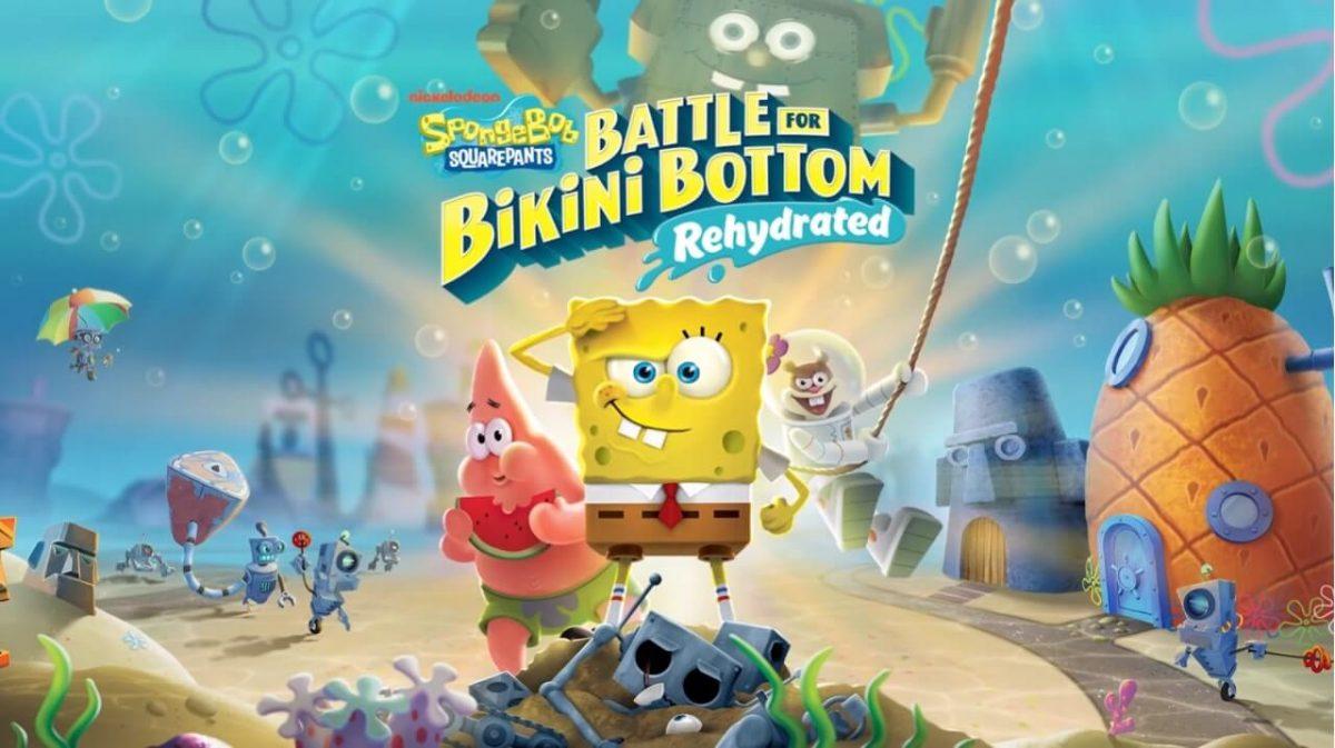 cover spongebob squarepants battle for bikini bottom