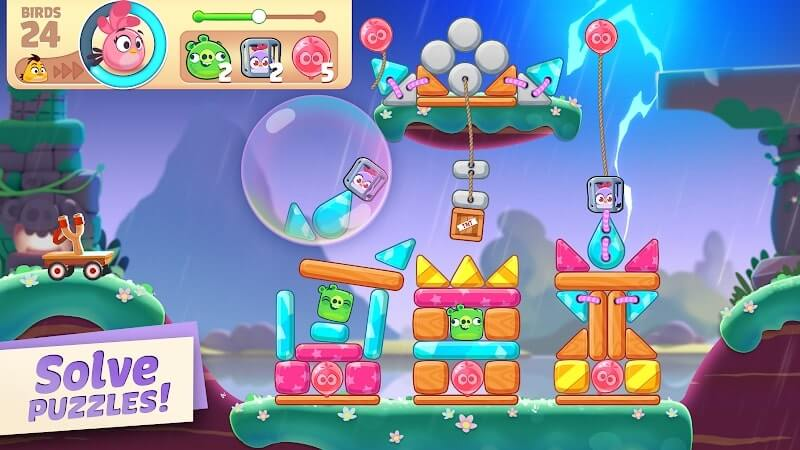 download angry birds journey mod lives