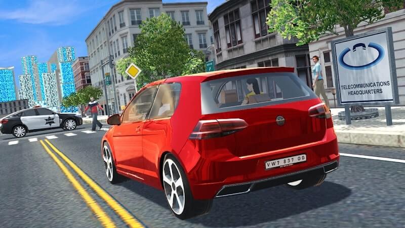 download car simulator golf apk