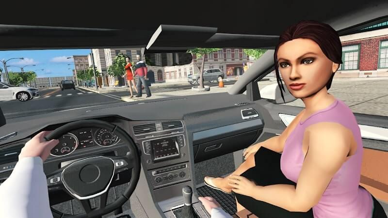 download car simulator golf mod apk