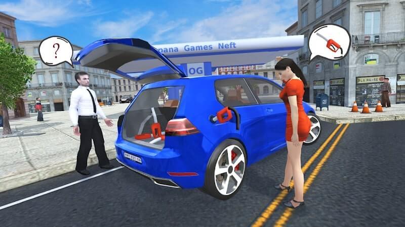 download car simulator golf mod money