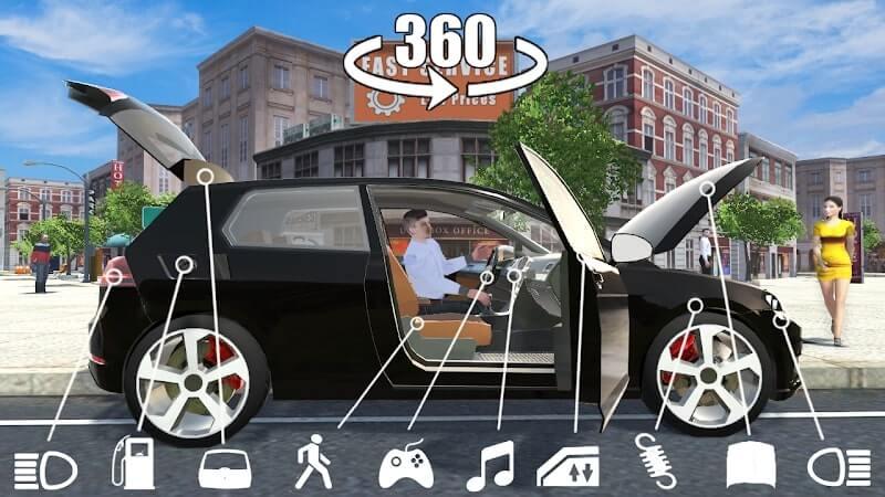 download car simulator golf