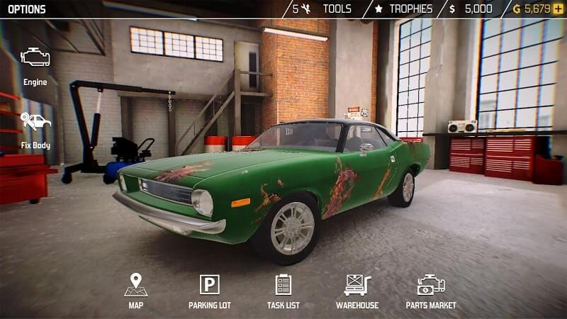 download cat mechanic simulator